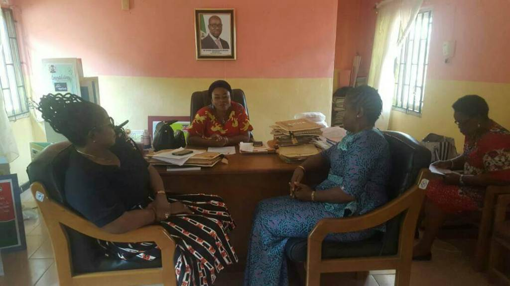 Advocacy Visit to the Office of the Ministry of Women Affairs and Social Development