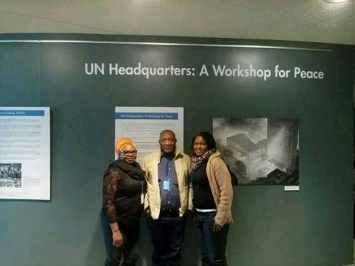 Ronke at UN headquarters